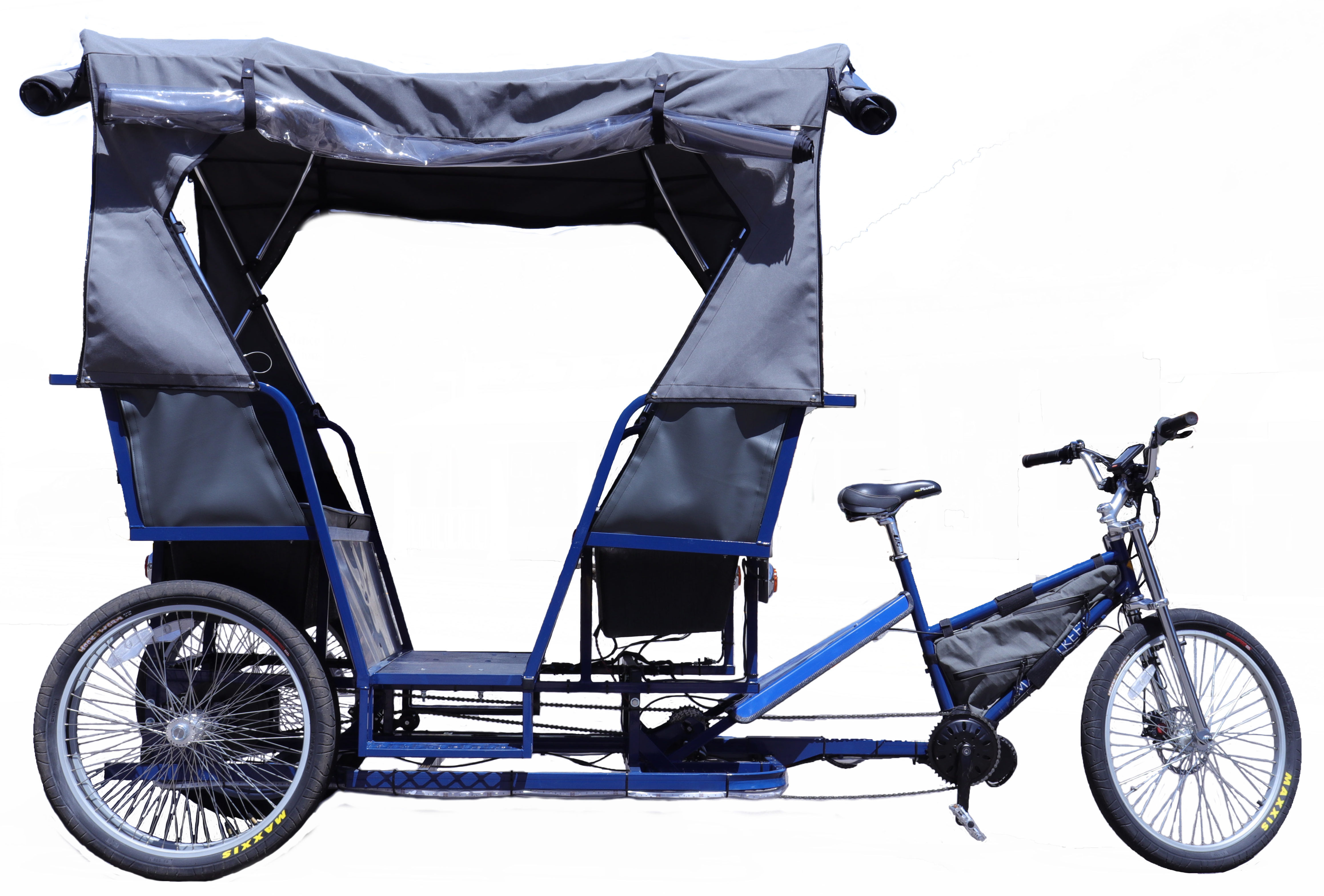 Learn more about the limo pedicab. view details