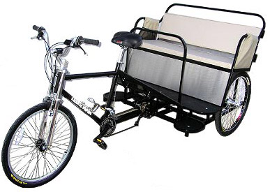 Learn more about the boardwalk pedicab. view details