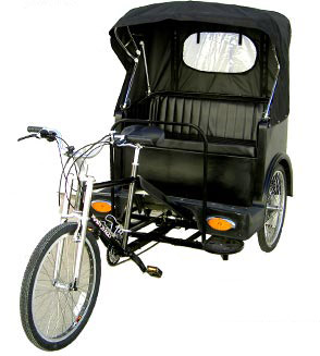 Broadway pedicab details and specs